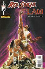 Red Sonja Claw Devils Hand #1 Alex Ross Dynamite Comic 1st Print 2006 NM