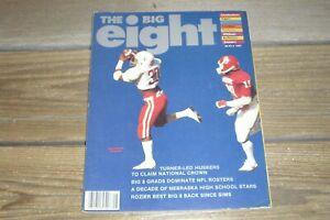 Vintage 1982 The Big 8 Magazine Volume 11 Number 1 Tom Osborne Mike Rozier Plus+