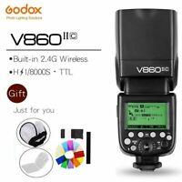 Godox Ving V860II-C E-TTL II HSS 2.4G Li-ion Battery Flash Speedlite for Canon