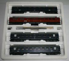 Rheingold Personenwagen für Modellbahnen der Spur H0 aus Stahl