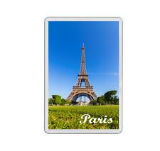 Jumbo Paris aimant de réfrigérateur - 90 x 60 mm-Vacances Souvenir-France Tour Eiffel
