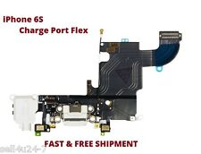 """New iPhone 6S 4.7"""" Charging Port Headphone Jack and Microphone with Flex White"""