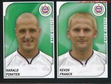 476 PINXTEN - KEVIN FRANCK BELGIQUE KVSK.UNITED STICKER FOOTBALL 2008 PANINI