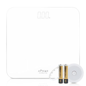 AIRSCALE Digital Bathroom Weight Scale for People, Minimalist Design and Large