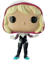 Marvel Comics Funko POP Spider-Gwen Unmasked Walgreens Exclusive Box Damage New
