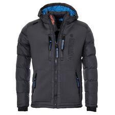 Geographical Norway chaqueta invierno hombre Brevster Guateada Parka Esquí m gris