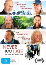 Never Too Late - DVD Region 2 4