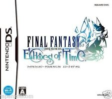 Used DS Final Fantasy Crystal Chronicles: Echoes  NINTENDO JAPANESE IMPORT