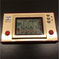 Game & Watch CHEF Lcd game Nintendo Wide screen 1981 Used Rare Vintage JAPAN