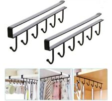 2 Pcs Under Shelf Coffee Cup Mug Holder Hanger Storage Rack Cabinet Hook Kitchen
