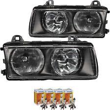 Scheinwerfer Set für BMW 3 E36 Bj 9.94-4.99 H7/H7 inkl. PHILIPS Vision + 30% Neu