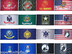 Army Navy USMC POW Flag 3X5ft premium quality usa seller