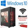 GAMING PC Intel i7 3.4 Ghz New 240 SDD 16 GB RAM 4GB GTX 1650 Windows 10 WIFI