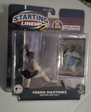 Starting Lineup Pedro Martinez Figure Boston Red Sox package 2001