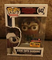 Funko Pop Stranger Things 642 Steve With Bandana Hot Topic Exclusive EMP Excl