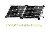 100W Portable Folding Solar Panel, High Efficiency Home, Garden, RV and Boats.
