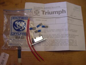 NOS British Leyland A/C Thermal Cut off Relay Kit Triumph TR7 Air Conditioning