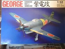 "KAWANISHI N1K2-J SHIDEN-KAI ""GEORGE""1/32 SWALLOW MODEL"