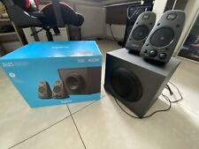 Logitech z625 THX Sound 2.1 PC-altavoces-negro (980-001256) con embalaje original