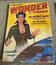 Thrilling Wonder Stories Lot 5 Pulp Science Fiction Magazine 1943-1950