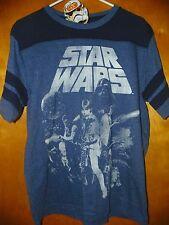 NEW Disney STAR WARS Classic '77 Shirt Vader Skywalker Solo Leia SMALL 34/36 -K7