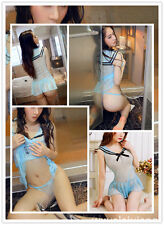 Japanese School Girl Students Sailor Lingerie Uniform Cosplay Sexy Anime Costume