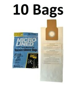 10 Bags for Kenmore Upright Vacuum 5068 50688 50690 Type U O Microlined