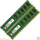 4GB(2x2GB) DDR2-667 PC2-5300 ECC Unbuffered Desktop PC Memory RAM DIMM 240-pin
