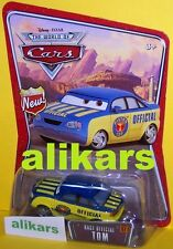W - RACE OFFICIAL TOM - #57 WOC Radiator Springs Collection Disney Pixar Mattel