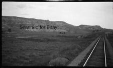 ORIGINAL PHOTO NEGATIVE- Railroad Badlands South Dakota