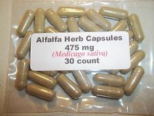 Alfalfa Herb Capsules (Medicago sativa) 475 mg - 30 count