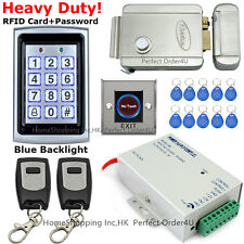 RFID Card + Password Door Access Control System+Electric Control Lock+Remote