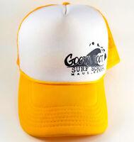 Vintage GOOFY FOOT SURF SCHOOL Maui Hawaii Mesh Trucker Snapback Hat Cap
