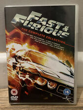 Fast and Furious The Complete Collection DVD Boxset