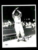 Ed Lopat PSA DNA Coa Hand Signed 8x10 Photo White Sox Autograph