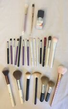 Face Makeup Brushes Lot Of 25 Brushes Used and New