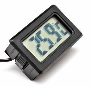 Thermometer   LCD Display -50 - 70 Grad mit Kabel 1 m