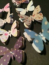 """""""Flutterbies"""" scrapbooking - card making- craft- embellishment with """"bling"""""""