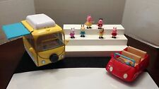 PEPPA PIG CAMPER VAN, CAR W/T SOUND, & 6 FIGURES