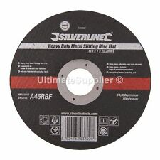 """Heavy Duty Metal Slitting Cutting Discs Disks Thin Angle Grinder 115mm 4.5"""" inch"""