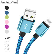 Lightning USB Charger Cable Charge Lead For iPhone Xs 8 7 6 Plus SE 5s 1m 2m 3m