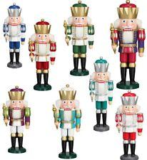 Seiffener Volkskunst EXKLUSIV NUSSKNACKER KÖNIG verschiedene Farben / 40 cm