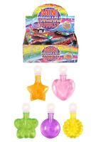 25 x Mini Touchable Bubbles Children Tubs Kids Party Bag Fillers Toys UK SELLER