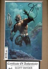 Justice League #10 B Lee & Williams variant NM SIGNED COA