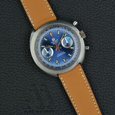 TISSOT Seastar Navigator vintage CHRONOGRAPH blue dial Valjoux 7733 Handwound