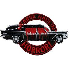 """Authentic KREEPSVILLE 666 Hearse Haulin' Horror Embroidered Patch 4.7"""" NEW"""