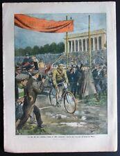 1910 CICLISMO GANNA VARESE brigante sardo Cannas SAMBUCA PISTOIESE aviatore Roll