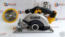 "New DeWalt DCS393 20V Max Cordless Li-Ion 6-1/2"" Circular Saw with Blade"