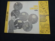 Lincoln Town Car 1985 Electrical manual  Werkstatthandbuch