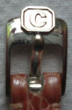 UHRENSCHLIESSE CHOPARD rosa gebrauchtes Band 10 mm Krokomuster HAPPY DIAMOND